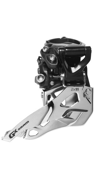 SRAM GX Umwerfer 2x11-fach High Clamp Bottom Pull schwarz